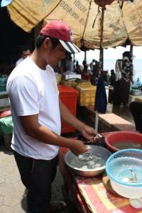 preparation du crabe