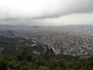 Bogota 5 nov 2018 Bogota 49 mont Serrate B