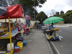 Bogota 5 nov 2018 Bogota 9 stands de bouffe B