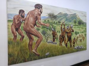 Bogota 6 nov 2018 musée police 20 l âge de pierre B