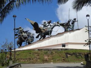 monument des conquistadors
