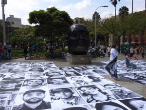 photos d'immigrés vénézueliens