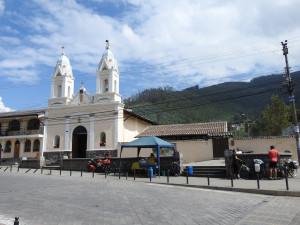 pause café offerte par la commerçante, Colombienne