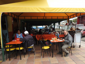 Cajabamba déjeuner de la Saint Valentin