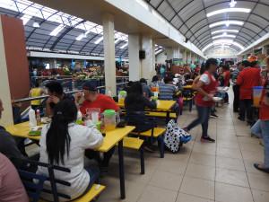 déjeuner au marché
