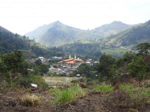 vue sur Yungana