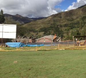 école en construction