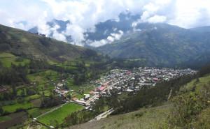 vue sur Huancarama