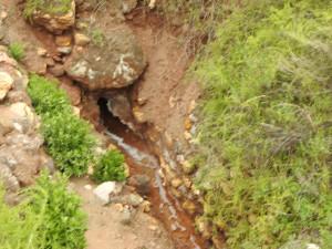source d'eau salée