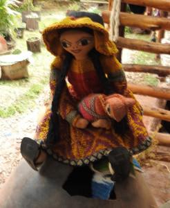 poupée artisanale
