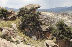 rocher forme tête d'aigle